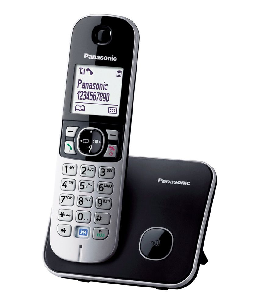 71b2fb2a99c Buy Panasonic KX-TG6811EB Single DECT Cordless Telephone Online at ...