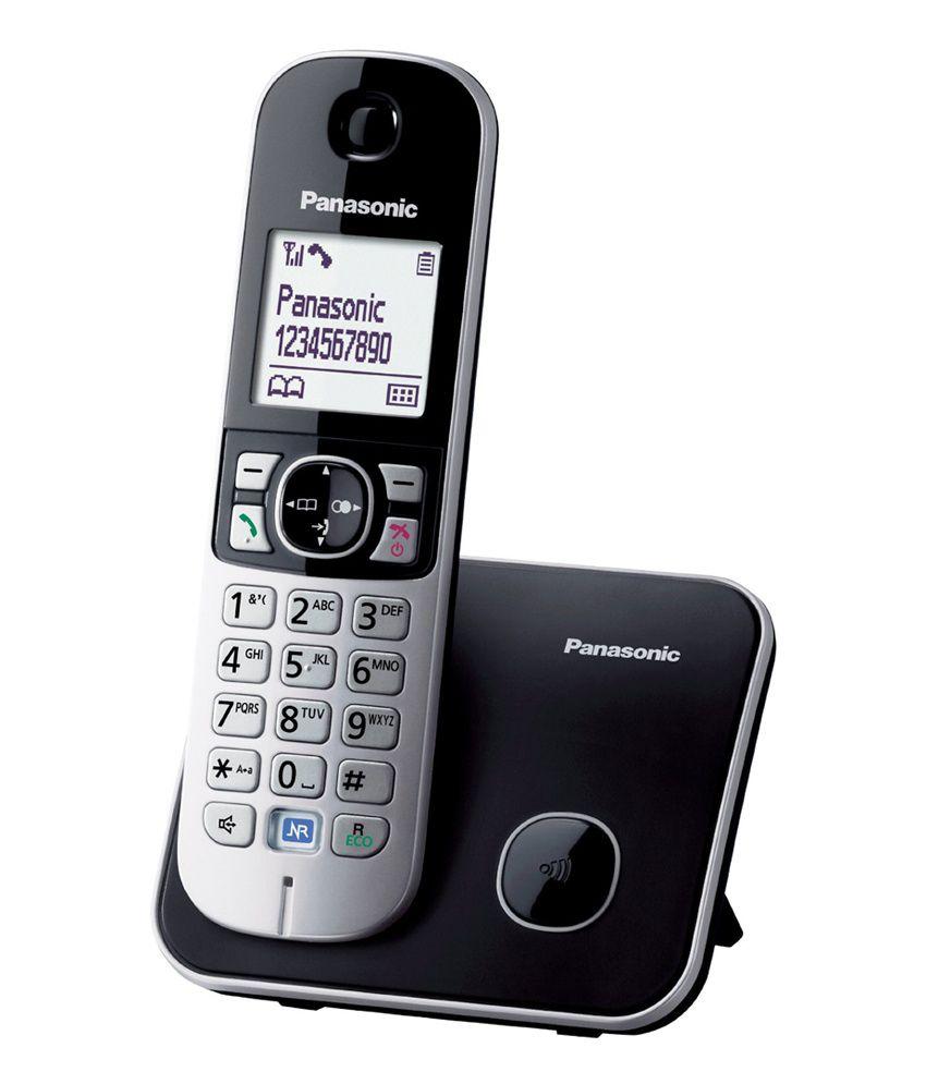 Panasonic KX-TG6811EB Single DECT Cordless Telephone