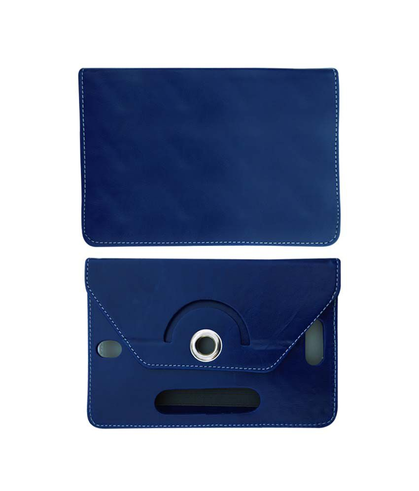 Fastway 8 Inch Rotate Tablet Book Cover For Alcatel POP 8S Android Tab - Blue