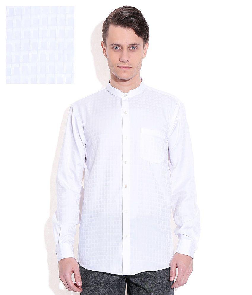 Arrow white slim fit formal shirt buy arrow white slim for Trim fit tuxedo shirt