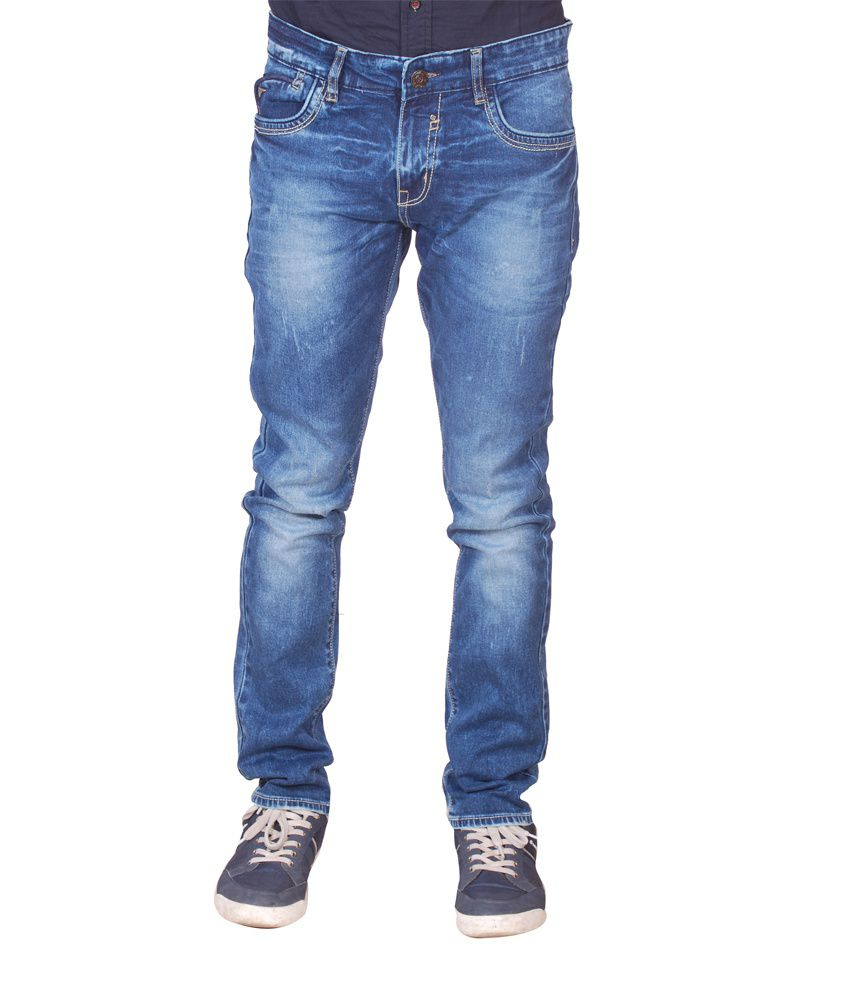 F3 Denims Co. Blue Jeans For Men'S