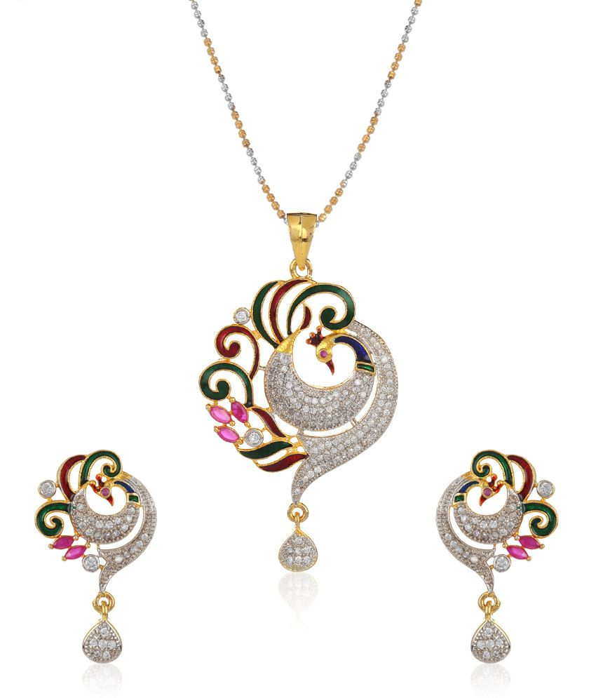 jewels galaxy meenakari work mayur american
