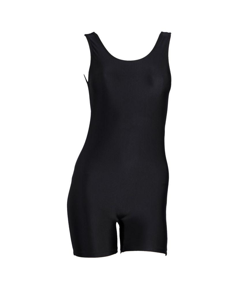 Champ Swimwear Plain With Pad Provision For Womens/ Swimming Costume