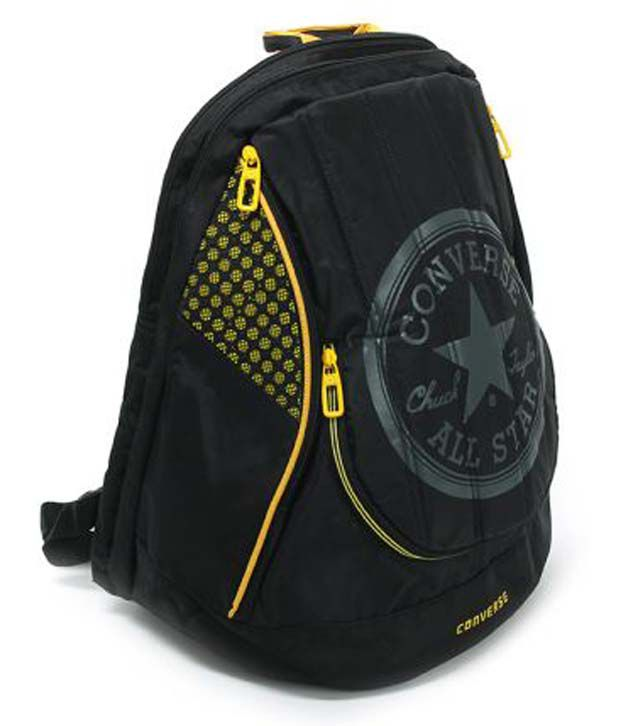 yellow converse bag