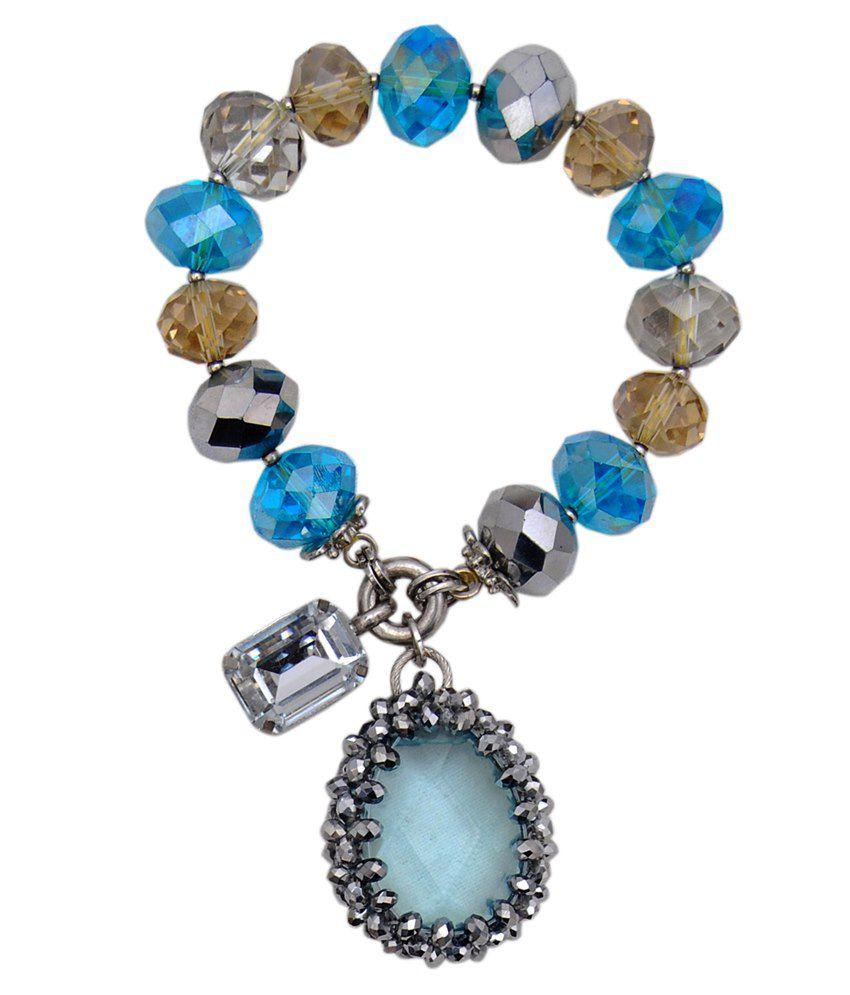 Rheaaqua Stone Drop Bracelet