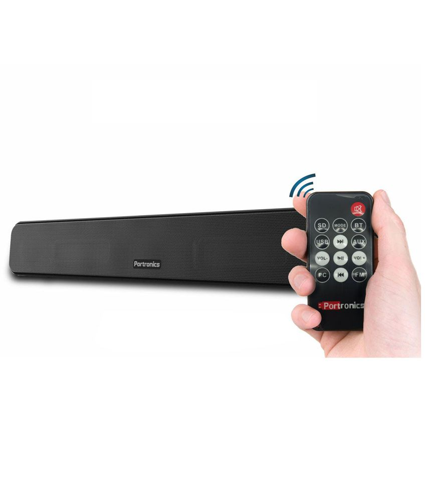 Portronics Pure Sound Pro BT II Por118 Bluetooth Soundbar