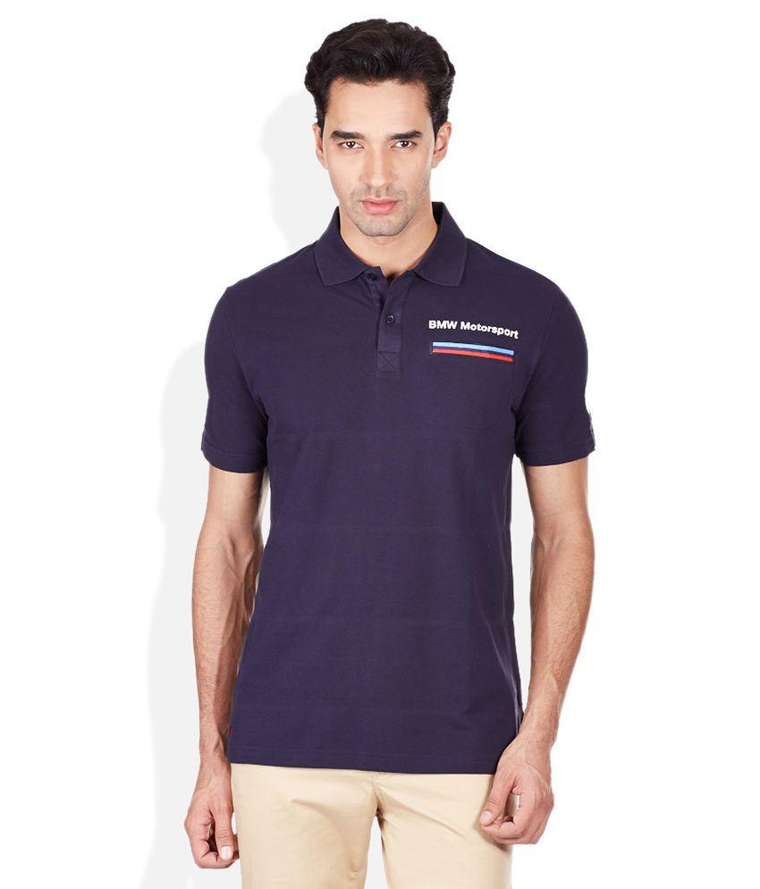 Puma Blue Basics Polo T-Shirt