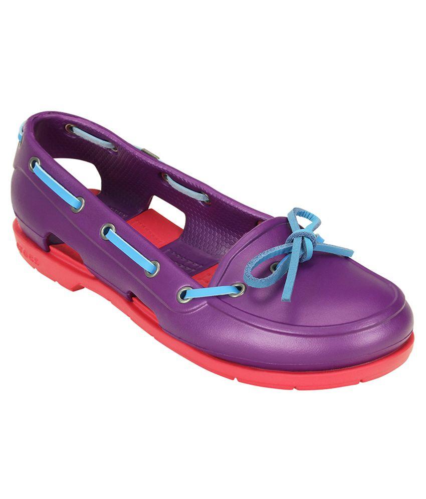 Crocs Purple Casual Shoes Standard Fit