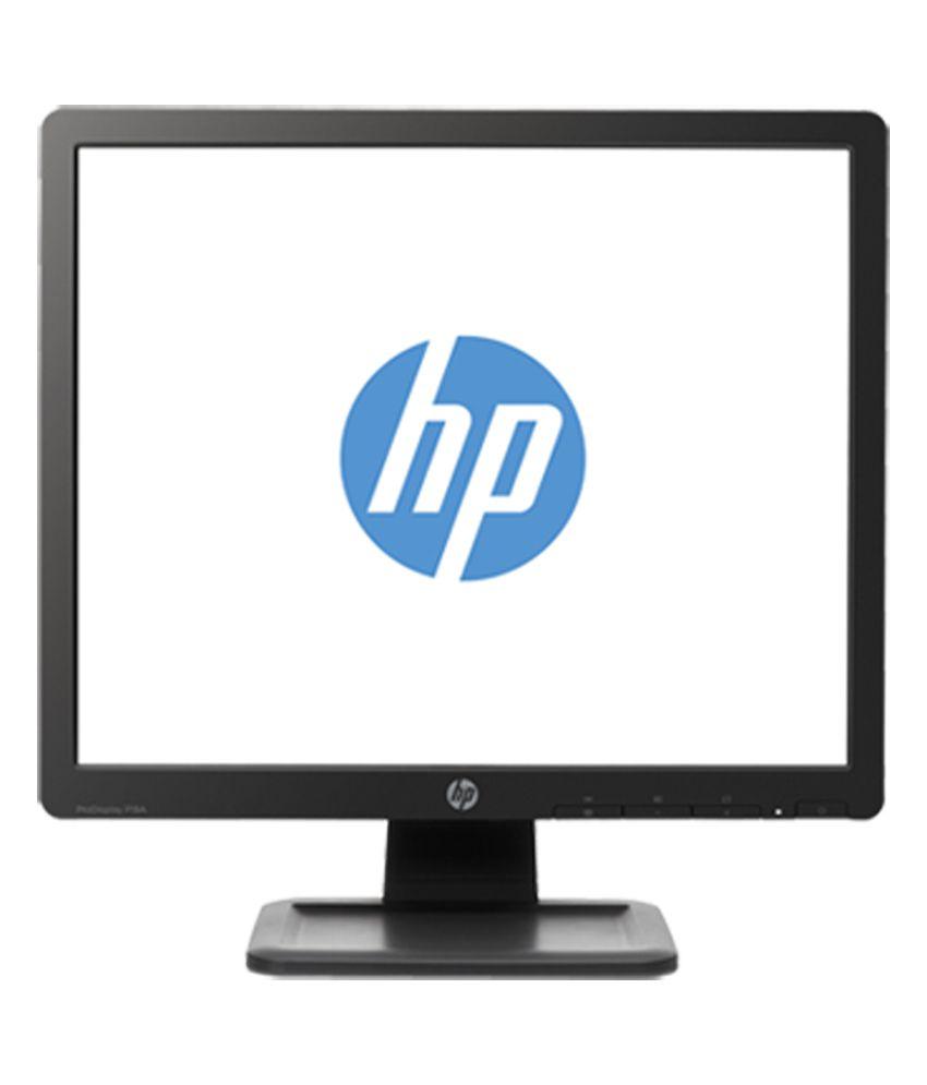 HP 19us s 46.99 cm (18) LED Backlit HD Monitor - Black