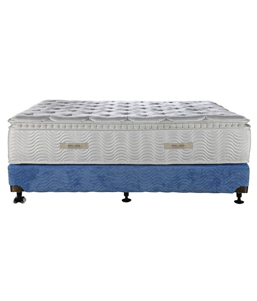 king koil king size comfort sense king mattress 78x72x10 inches