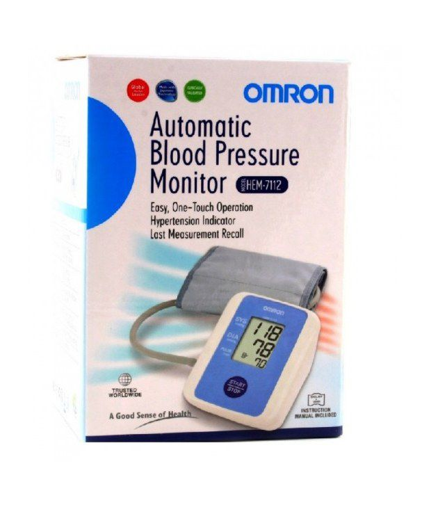 Omron Bp Monitor Upper Arm (hem-7112)