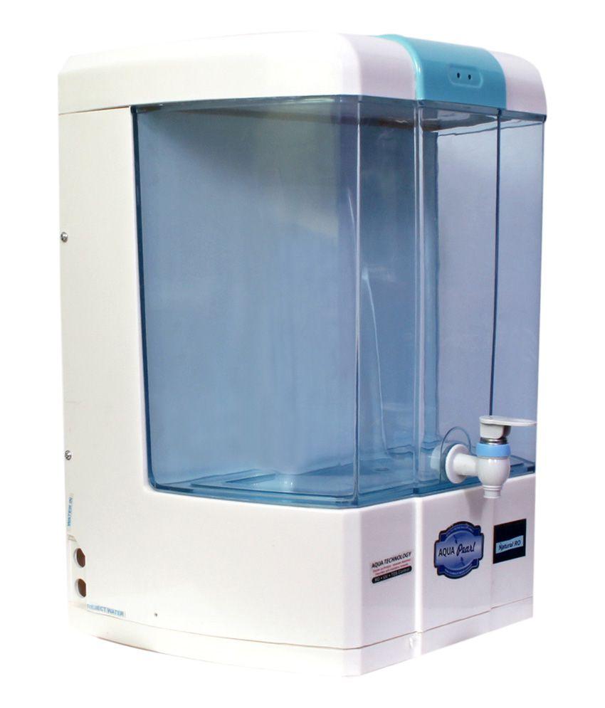 Aqua Pearl 8 Ltrs. gold+ RO+UV+UF+TDS Water Purifiers - Buy Online ...