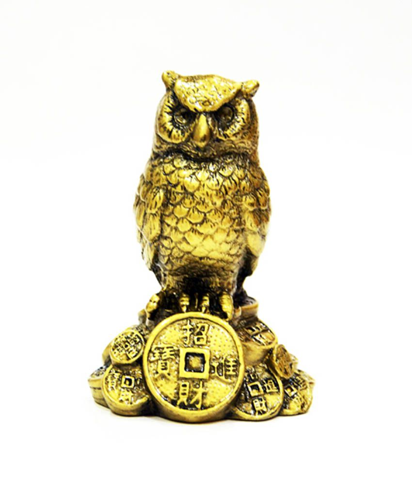 Anjalika Yellow Feng Shui Owl A Symbol Of Wisdom And Protection From