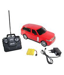 Fantasy India Red Remote Control Rechargeable Range Rover Toy Car