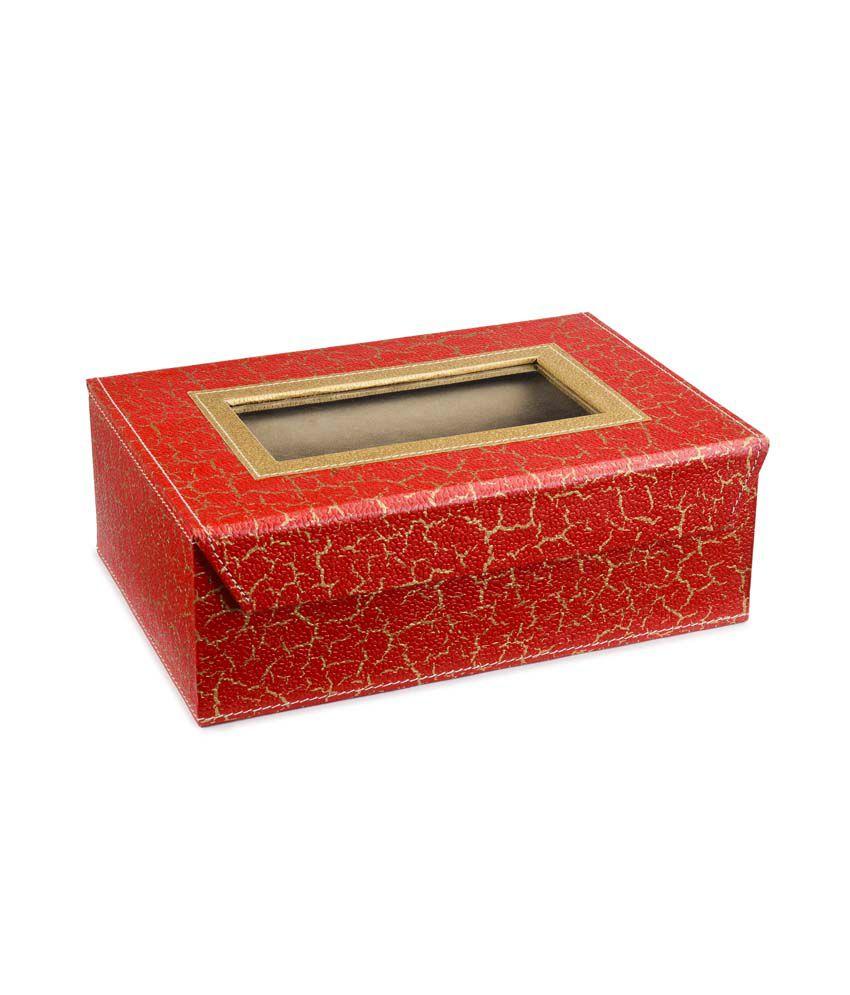 Ecoleatherette Designer 2 Rod Bangle Box