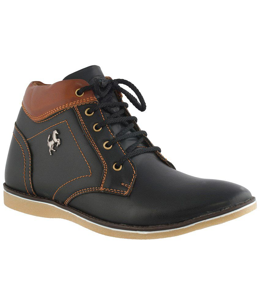 iBumpio Black Boots