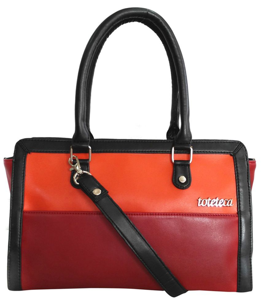 Toteteca Bag Works Multicolour Leather Shoulder Bag