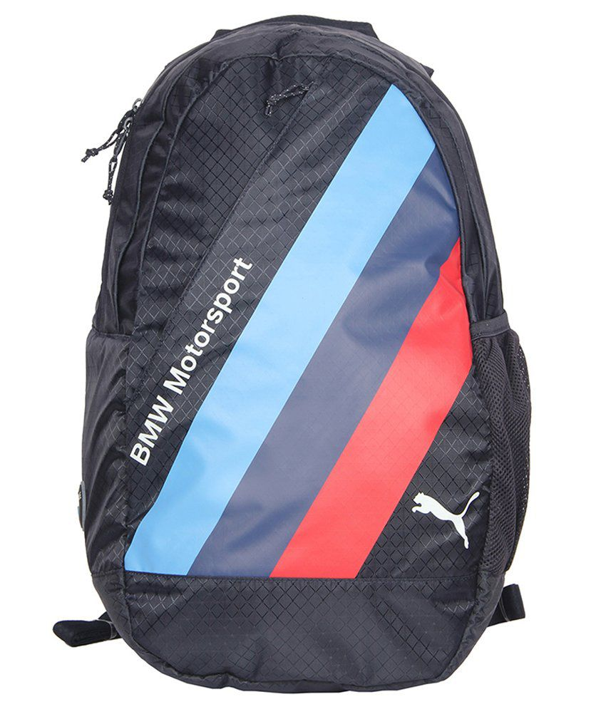 puma bmw motorsports polyester backpack blue buy puma. Black Bedroom Furniture Sets. Home Design Ideas