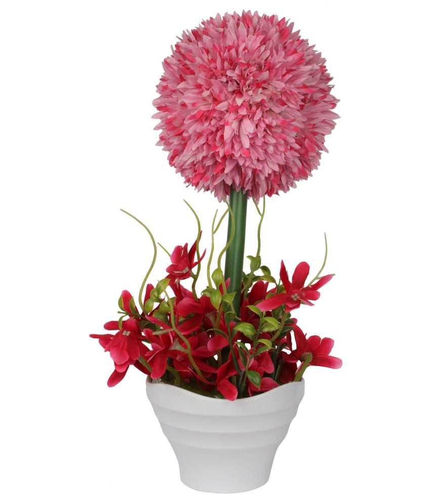 Ideal gifts acrylic artificial flower home decor buy for Artificial flowers for home decoration india