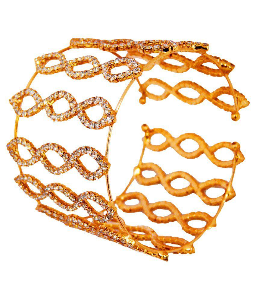 Camy Zircon Princess Delight Cuff Bracelet