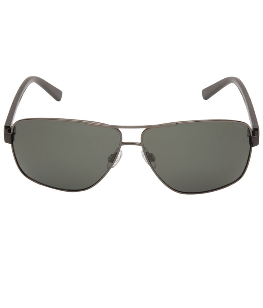 1a92cb1eb5342 Invu Voguish Green Rectangle Unisex Sunglasses - Buy Invu Voguish Green  Rectangle Unisex Sunglasses Online at Low Price - Snapdeal