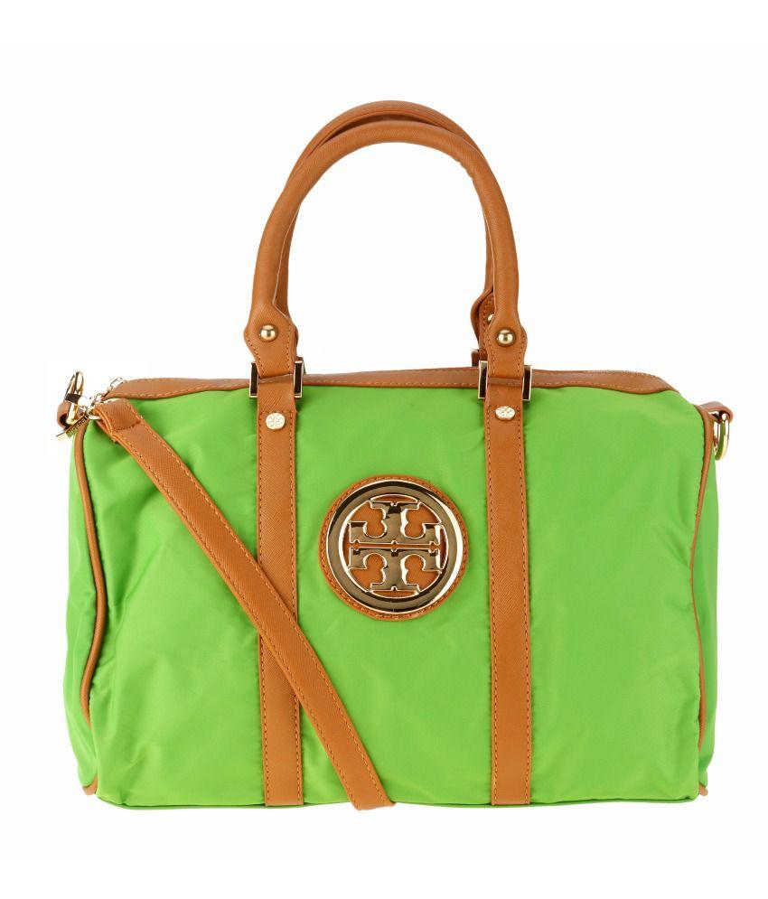 Kalon Green Shoulder Bag