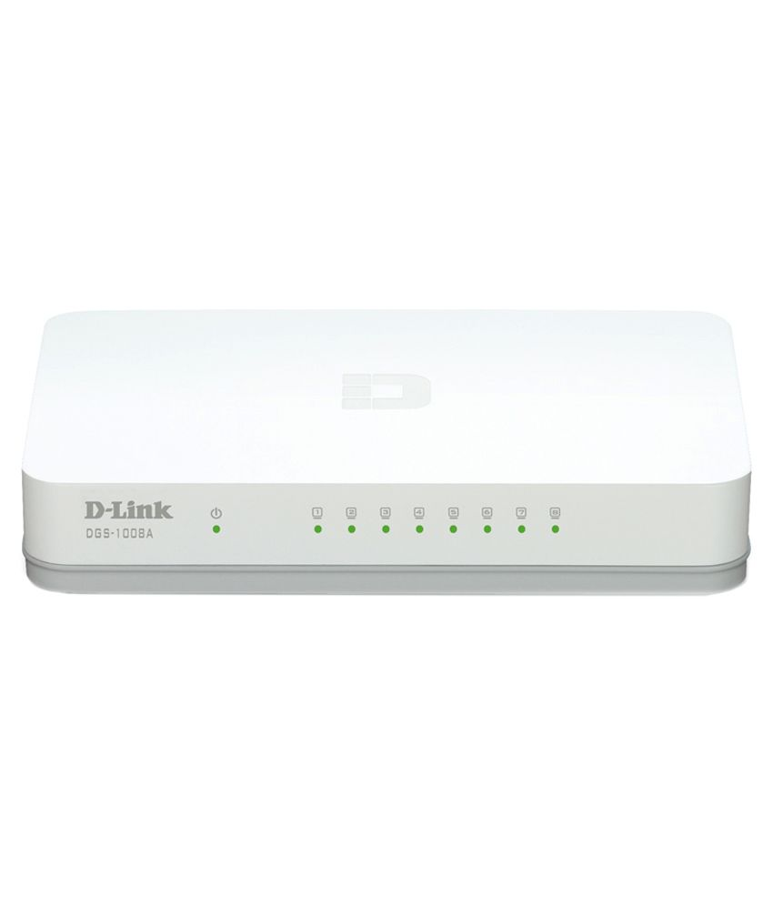 D-Link 8 Port Gigabit Switch(DGS-1008A)