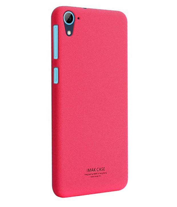 huge selection of f356e c79fc Imak Back Cover For Htc Desire 826 Red - Plain Back Covers Online at ...
