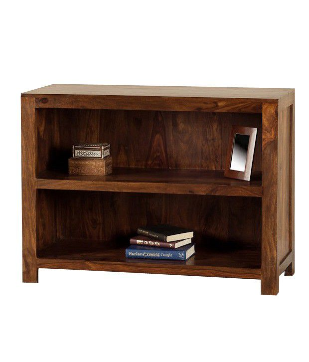 Francis Solid Wood 2 Tier BookFloating Shelf/ Wall Shelf / Book ...