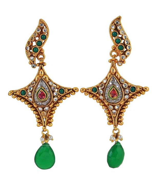 Maayra Graceful Antique Hanging| Dangle earrings