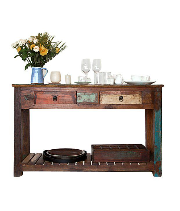 Nagaur Solid Wood Console Table