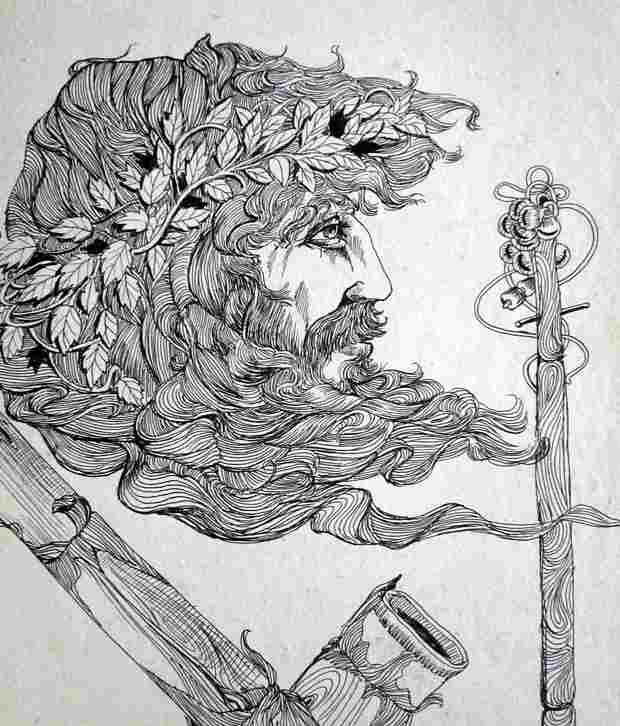 Nazarethlion Pen Art With Frame