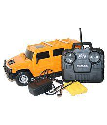 Navkar Yellow Hummer Remote Control Car-1:16 Model
