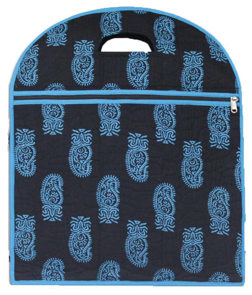 Ombags&more Blue Handmade Quilted Shopping Bag