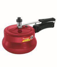 Prestige Nakshatra Plus red Handi3 Ltr Inner Lid - Aluminium Pressure Cooker