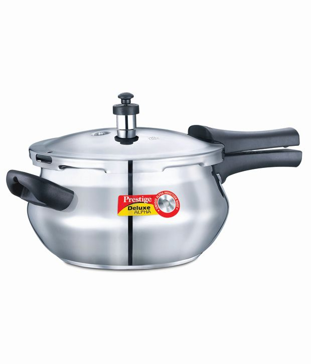 Prestige-Stainless-Steel-3.3-L-Pressure-Cooker-(Outer-Lid)