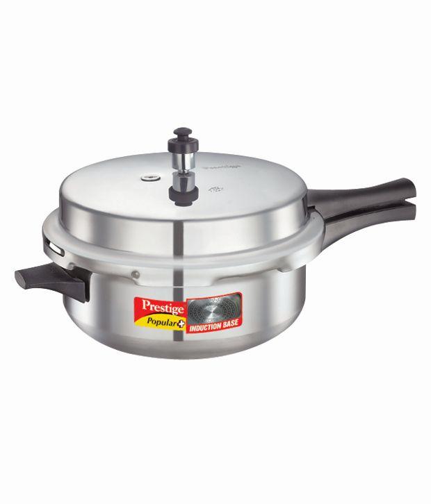 Prestige Popular Plus Senior  Deep Pan Outer Lid - Aluminium Pressure Cooker