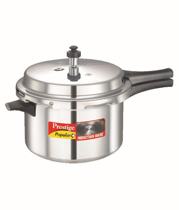 Prestige Popular Plus 5.5 Ltr Outer Lid - Aluminium Pressure Cooker