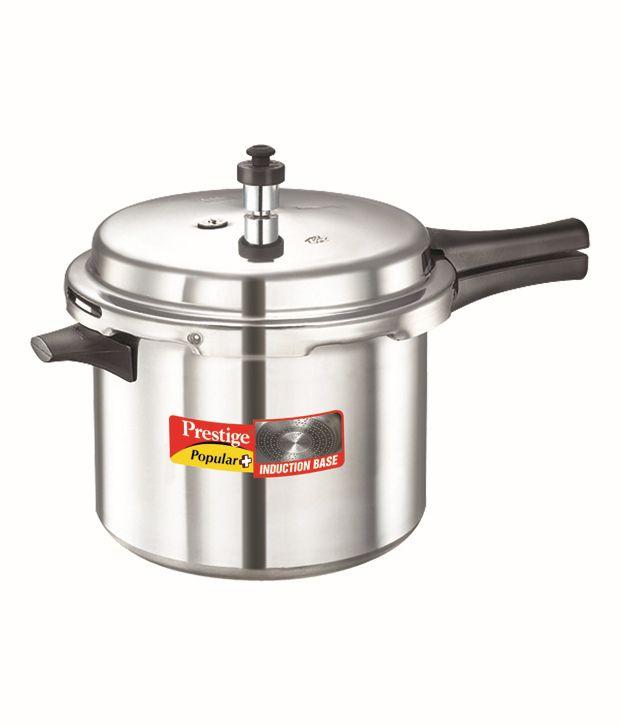 Prestige Popular Plus 6.5 LTR Outer Lid - Aluminium Pressure Cooker