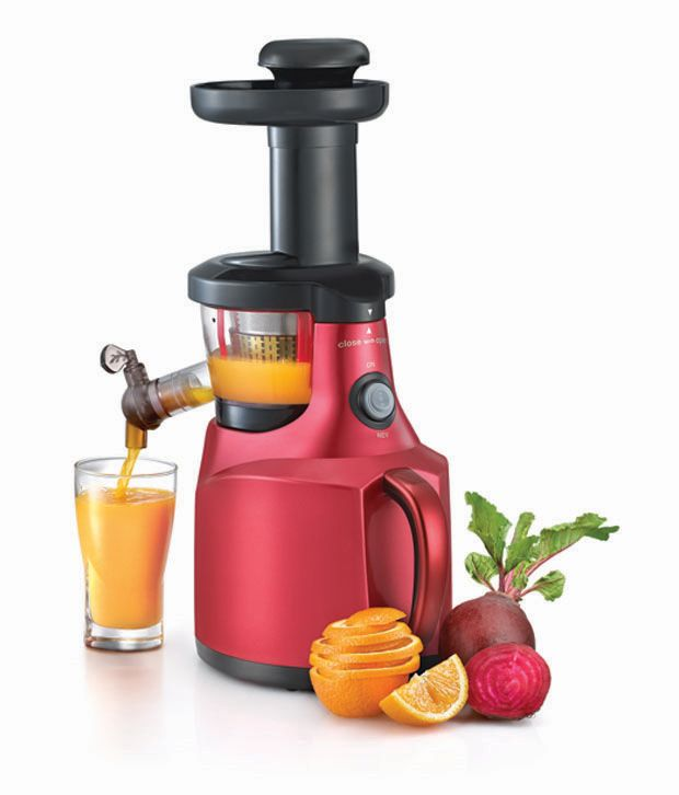 Slow Juicer Healthy Living : Prestige Psj 1.0 Slow Juicer Maroon Price in India - Buy ...