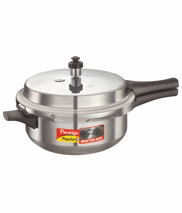 Prestige Popular Plus POP Junior DEEP PAN Outer Lid   Aluminium Pressure Cooker