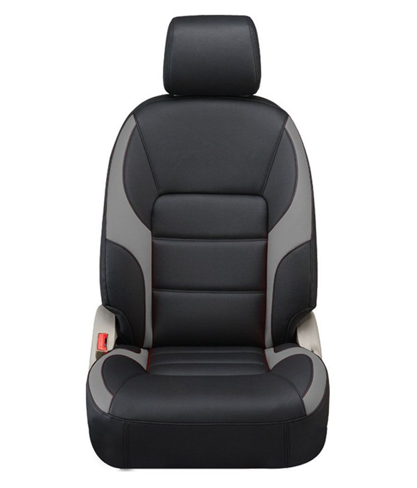Vegas Black PU Leather Car Seat Cover For Hyundai Elite