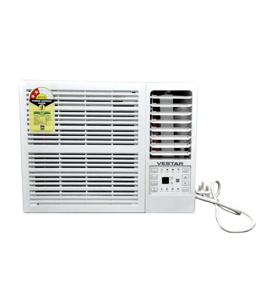 Vestar 2 star vawy092ht air conditioner white price for 0 75 ton window ac
