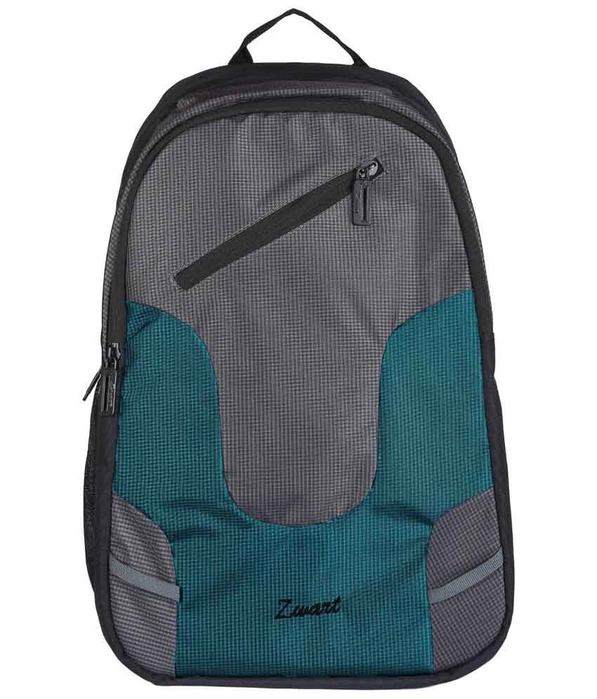 Zwart UDIVO-SG Green & Black Laptop Backpack