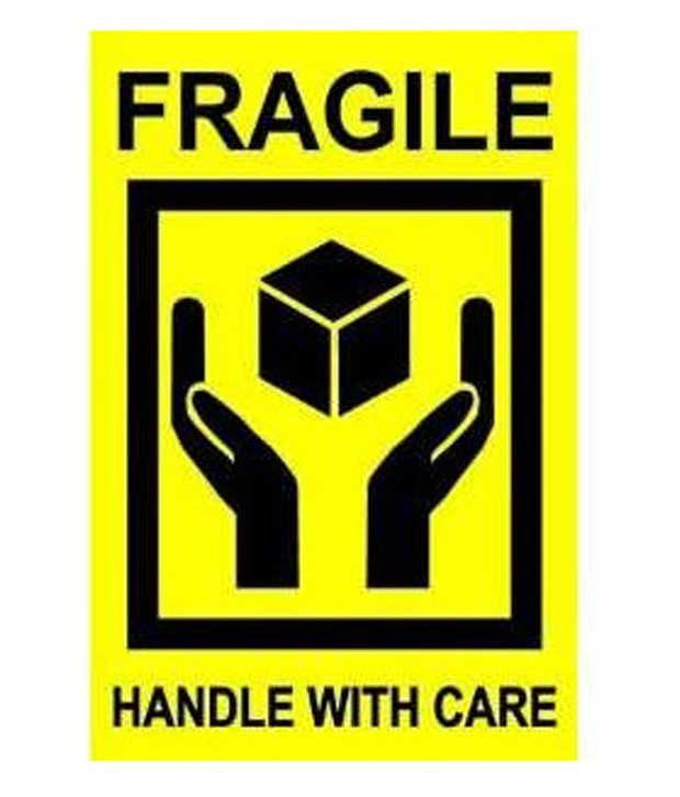 Popular traders fragile sticker pack of 100 pages