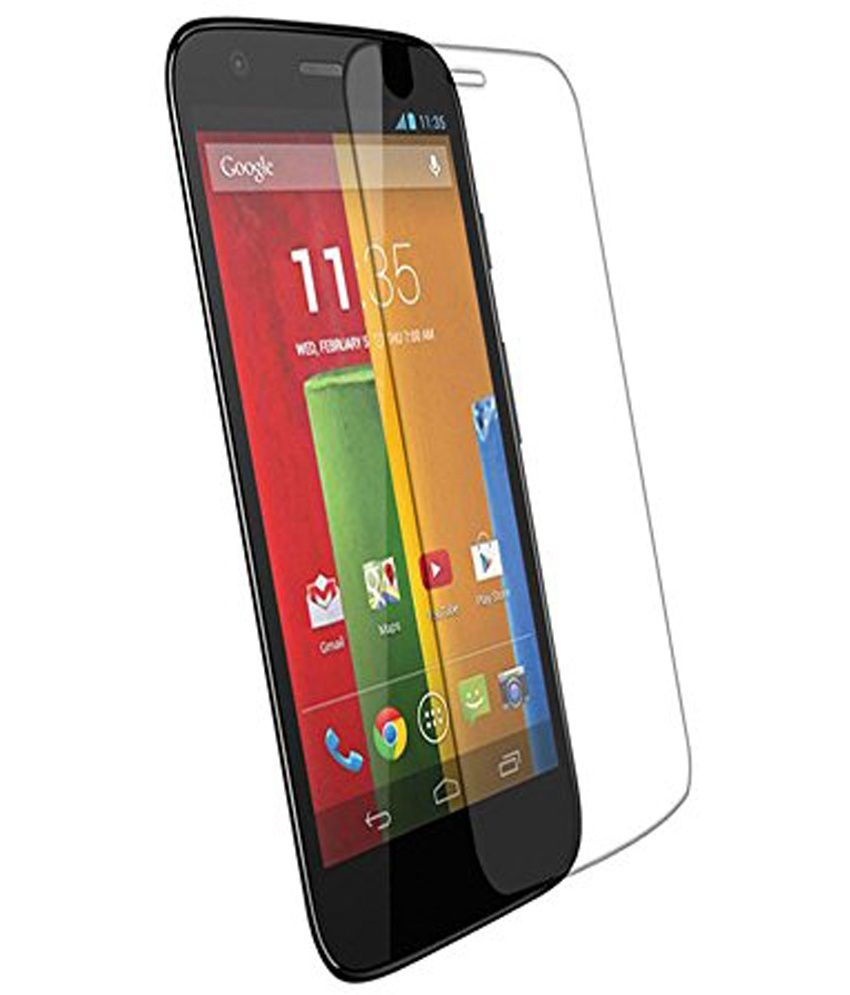 Motorola Moto E - Combo Pcs Matte Screen Guard by Uni Mobile Care