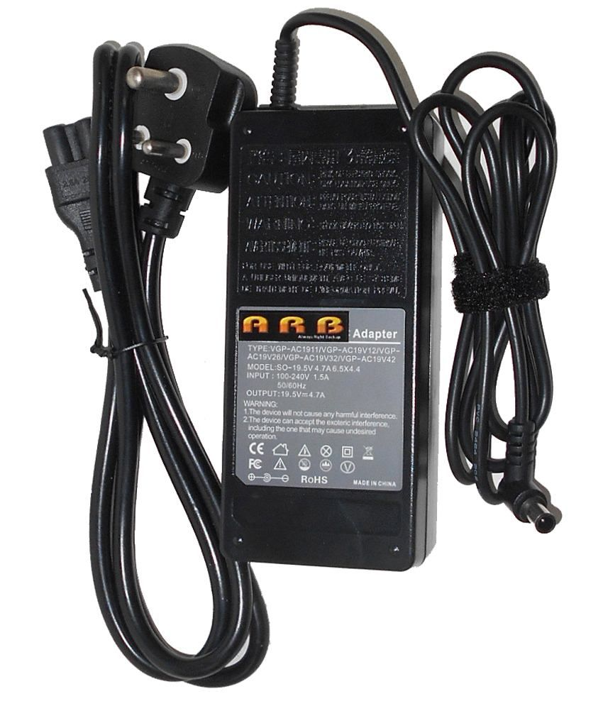 Arb Black 4.74 A Laptop Adapter