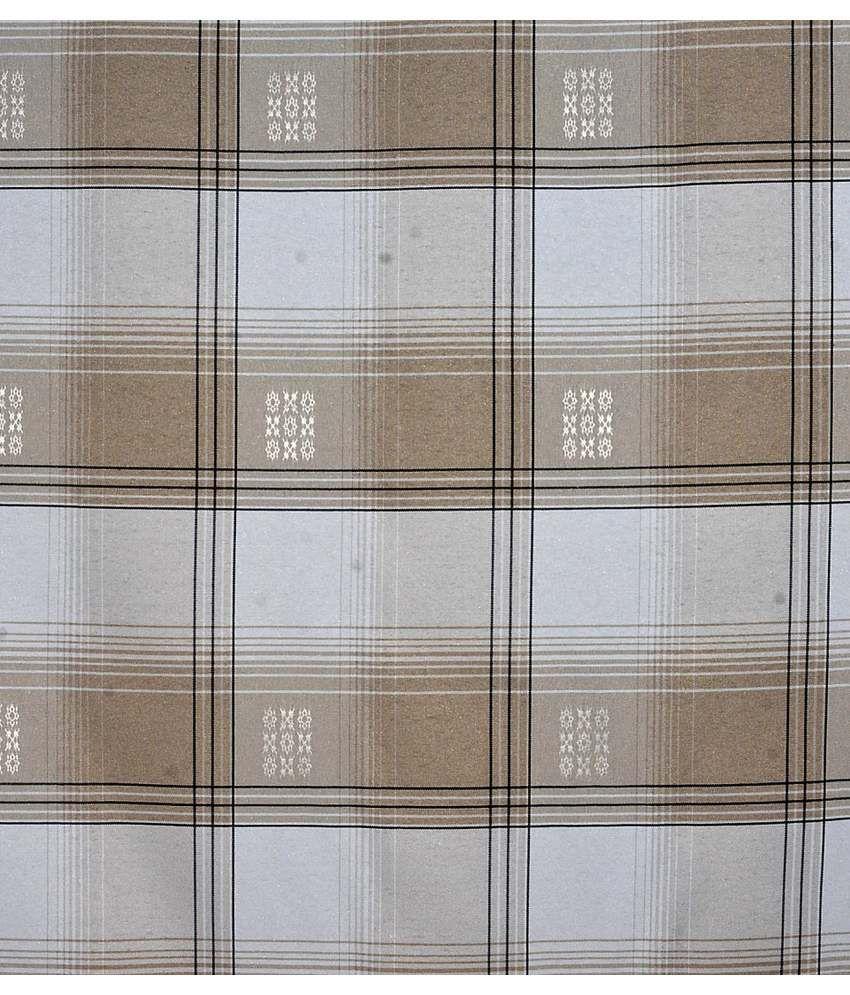 Mohini silk house designer classic brown checked cotton for Housedesigner com