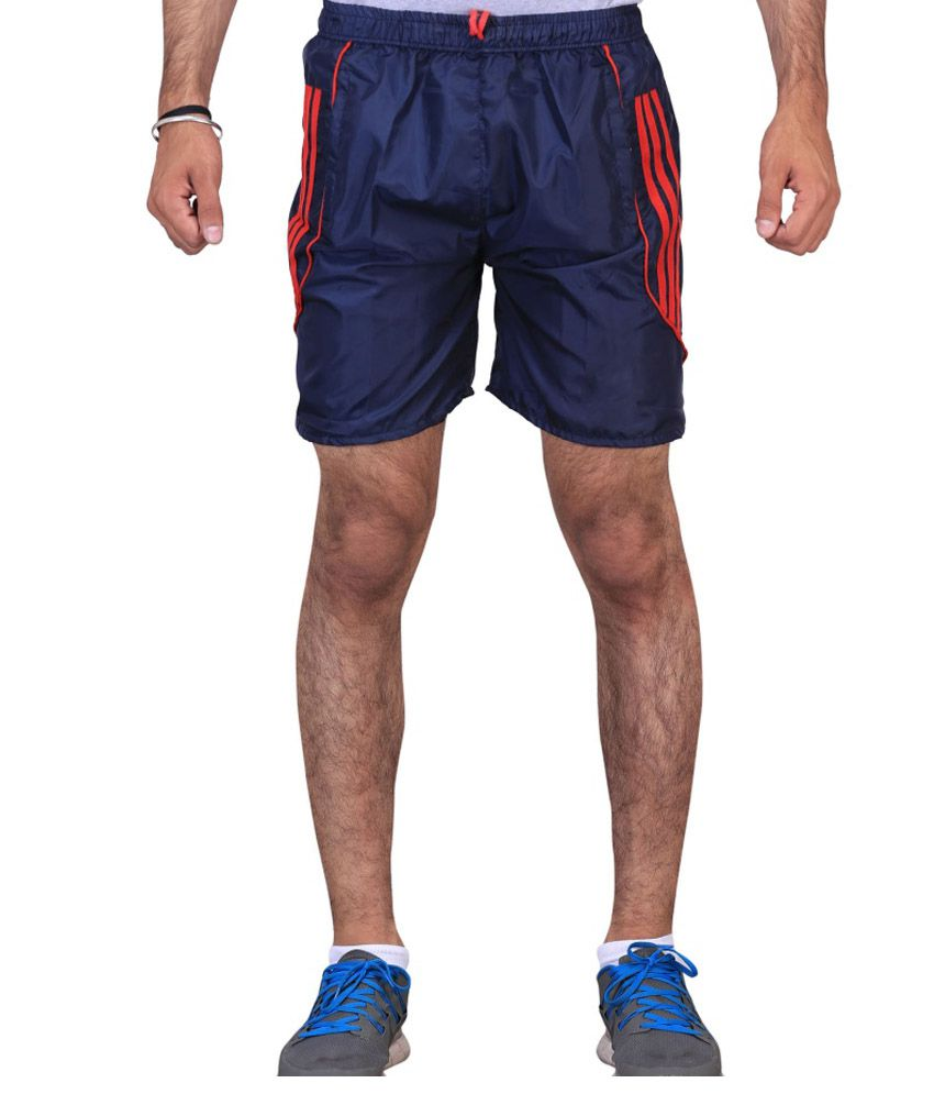 Ave Combo Of Cotton Blend Shorts And Cotton Three-Fourth