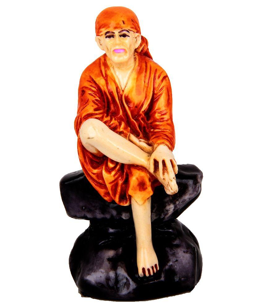 The Nodding Head Sai Baba Sitting Idol